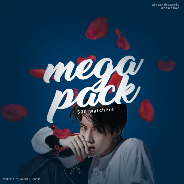 MEGA PACK #500 WATCHERS / onewsbae by AlejandraArely