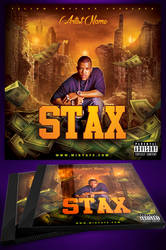 Stax Mixtape Cover Template by MadFatSkillz