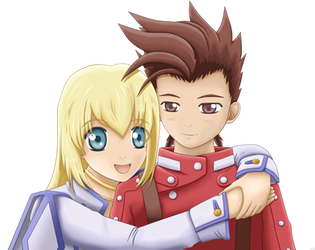 Colette and Lloyd by Jawineibah