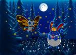 Buson and Queen Finny fireflies