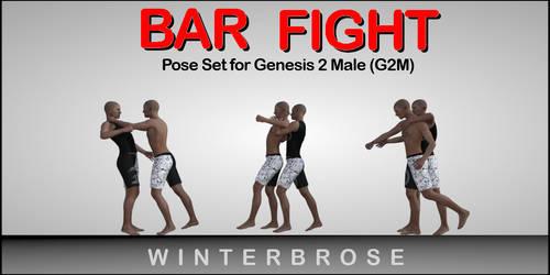 Bar Fight Poses G2M - Scene 05 by Winterbrose-AandG