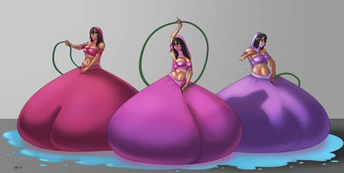 Harem Girls Pants Fill by LordAltros