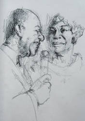jazz Neil Armstrong and Ella Fitzgerald