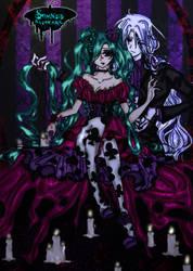 crow melody y Lior by oblivion-blood