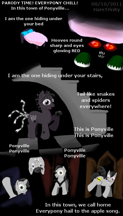Nightmare Before Ponyville 2 by HareTrinity