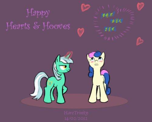 Happy Hearts and Hooves Day by HareTrinity