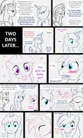 Shining Armor gets a foal sitter