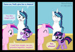 Twilight meets her foalsitter