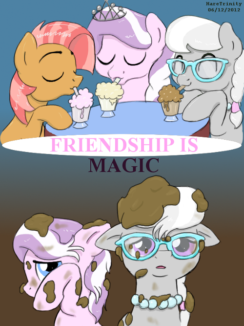 Friendship is Fickle by HareTrinity