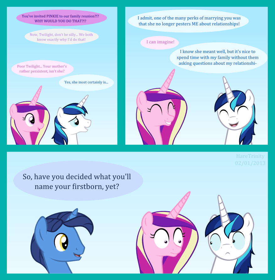 Twilight's mother - Bonus comic! by HareTrinity