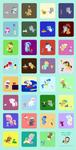 March Lagomorphs+Ponies 2014 by HareTrinity