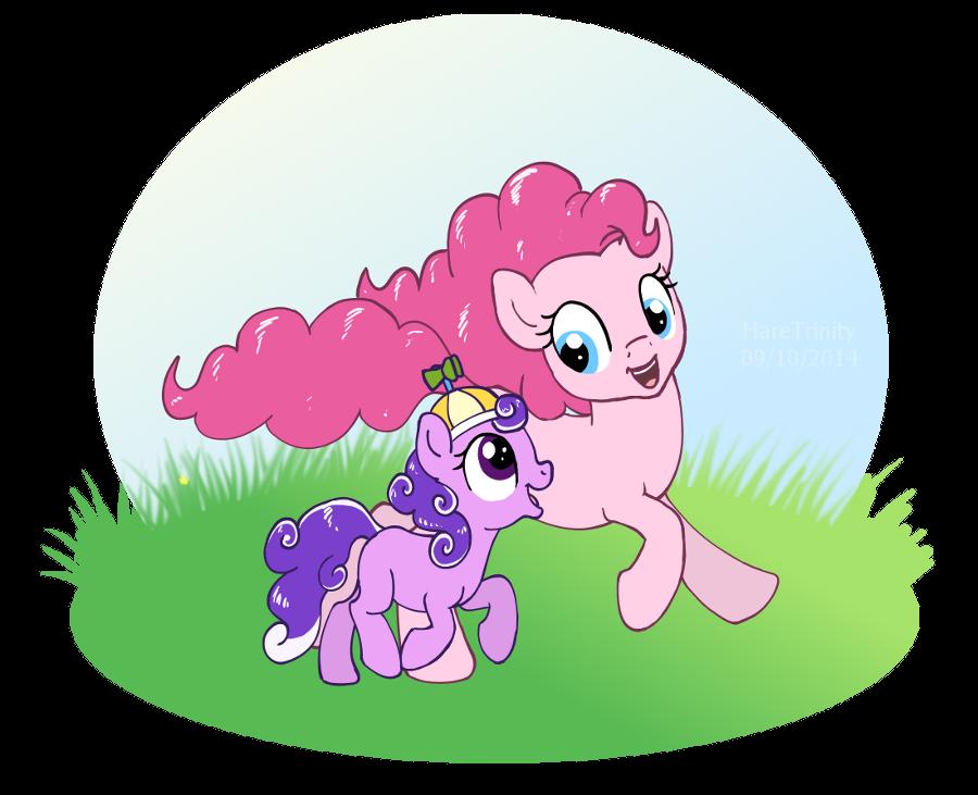 Pink weirdos by HareTrinity