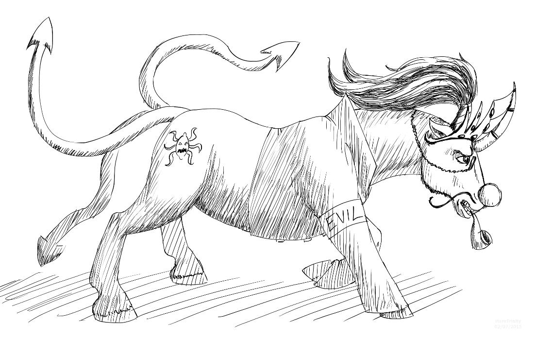 New Sombra horsy-style by HareTrinity
