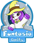 Funtasia Daily logo by HareTrinity