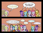 Fluttershy Leans In part 1 - The help