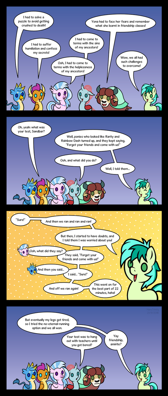 Trials of the Student 6 by HareTrinity