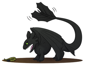 Dragon Poll - Toothless