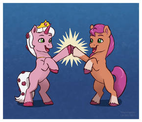 CGI horse girls