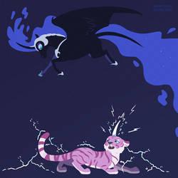 Nightmare Moon v Lightning Chill