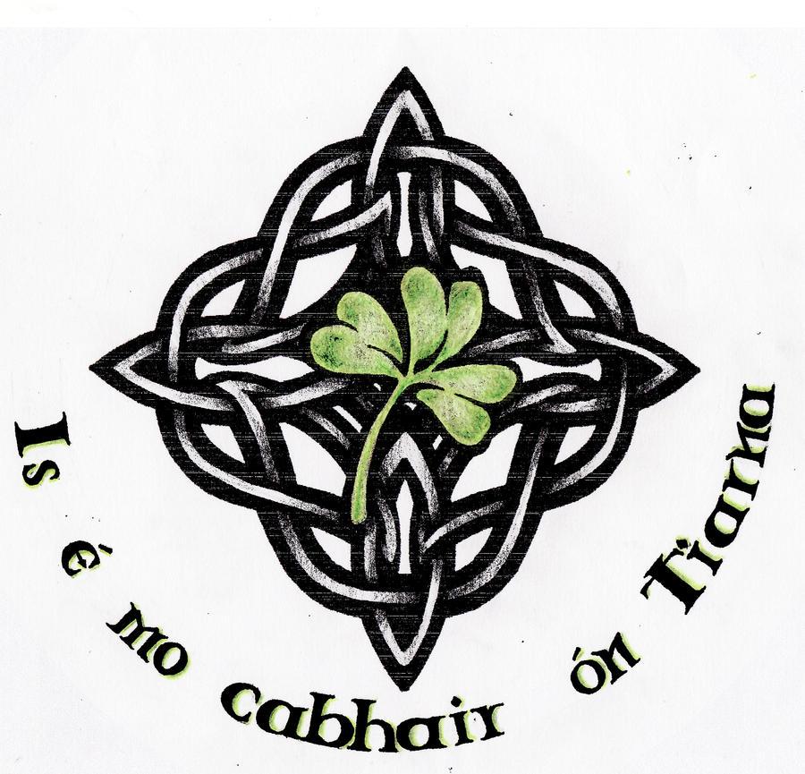 Celtic Knot Shamrock Tattoo Designs