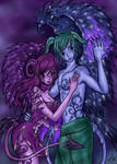 Succubus Love Colored by patty110692