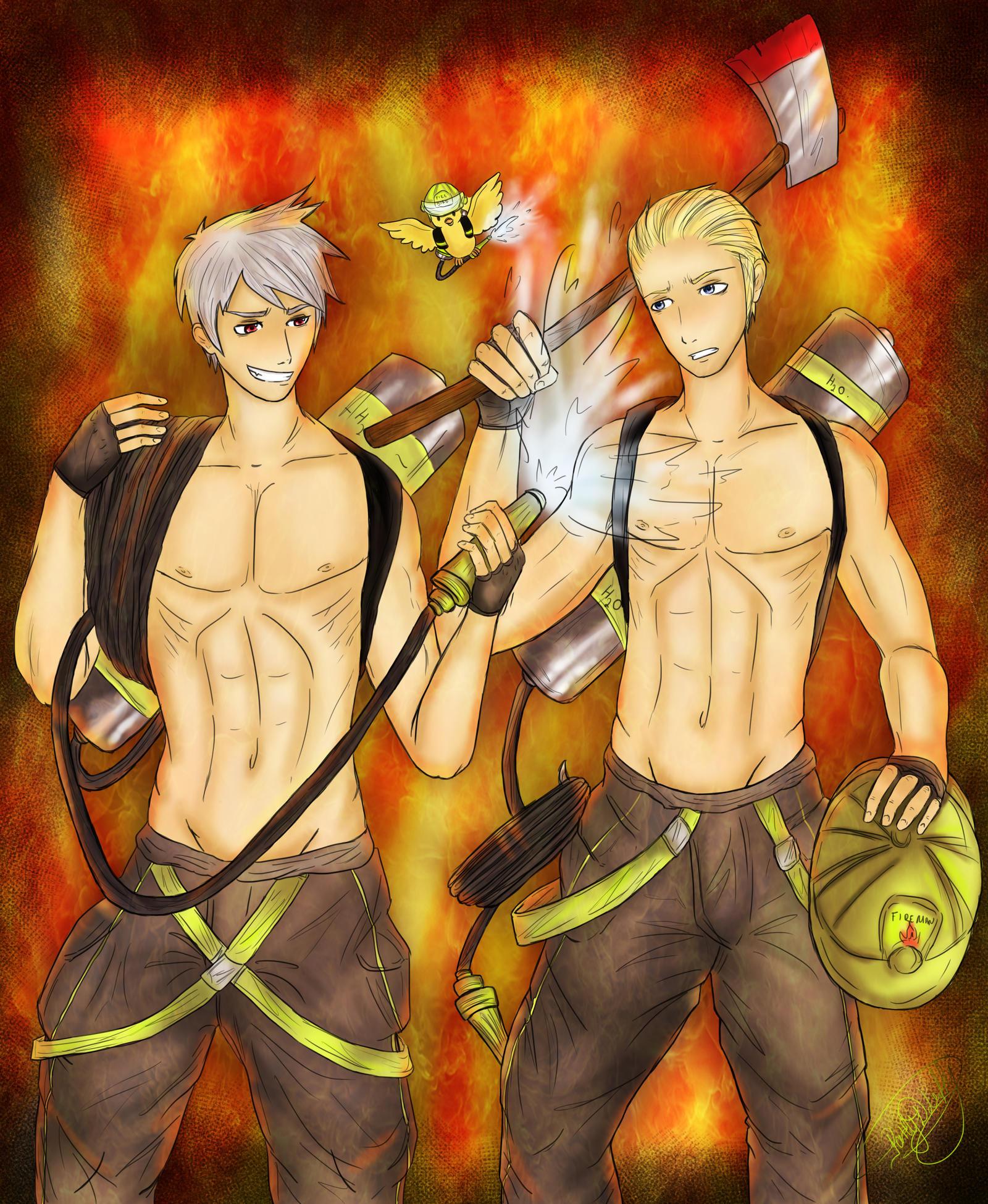 Firemen German Bros - I am on Fire!! by patty110692