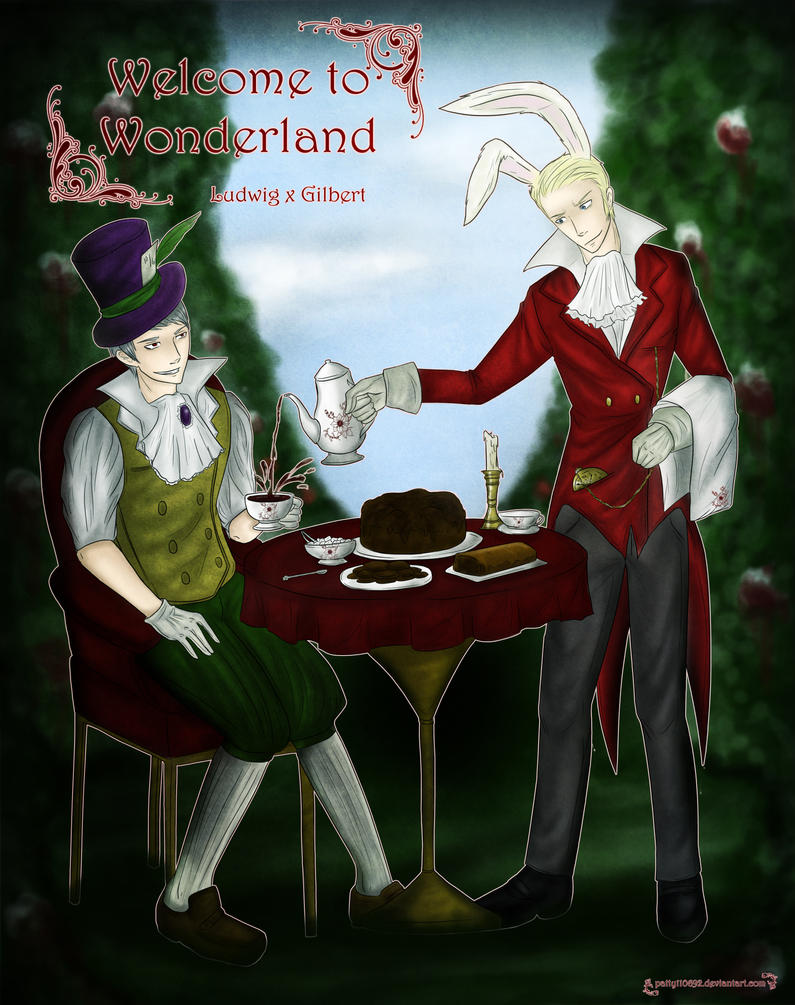 Welcome to Wonderland! (APH AU) by patty110692