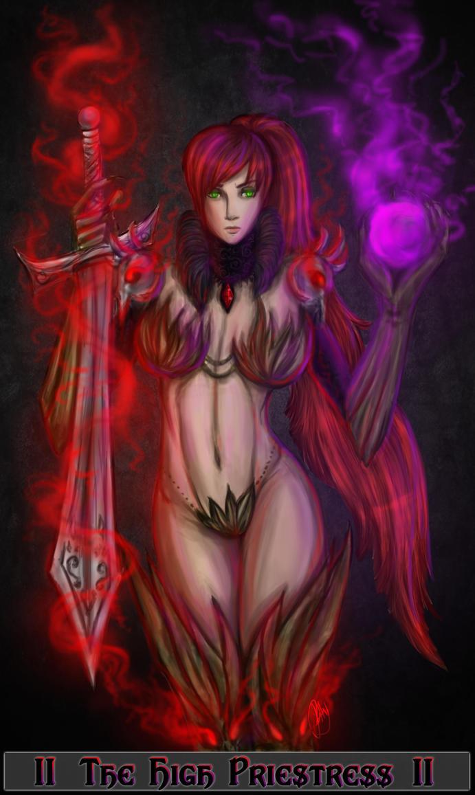 The High Priestress-Tarot card by patty110692
