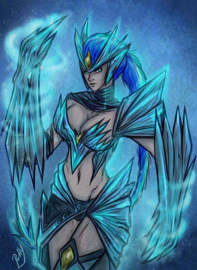 Ice Drake Shyvana by patty110692