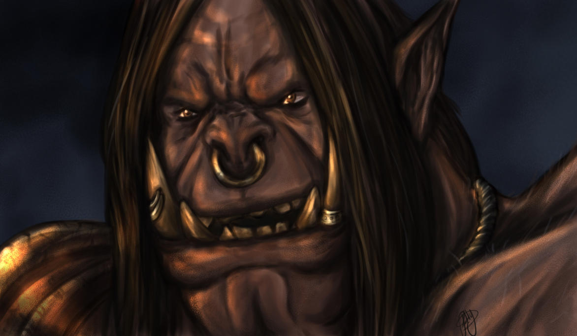 We will never be slaves... [Grommash Hellscream] by patty110692