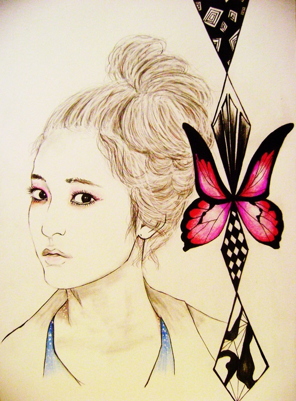 Candy Floss Drawing F(x Krystal Candy Floss