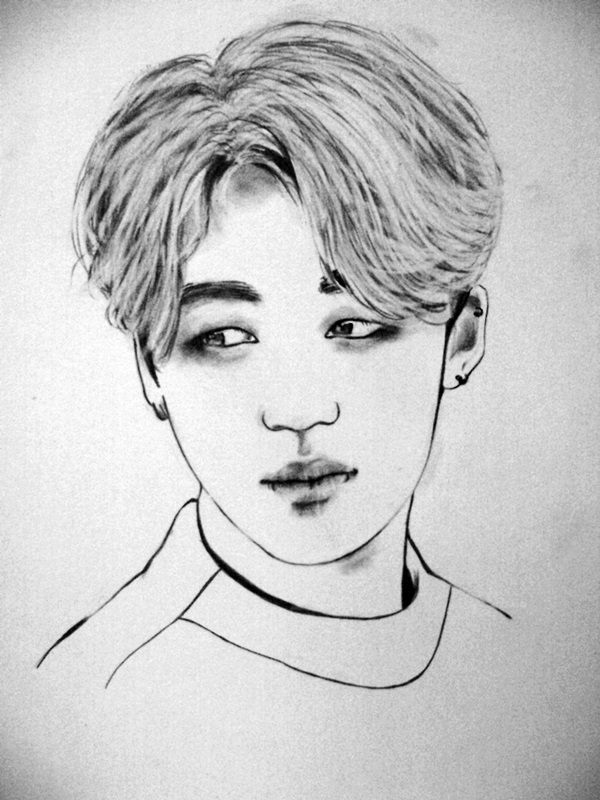 Fanart - BTS - Jimin [ Simple ] By AliceRossi On DeviantArt