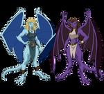 Sisters Gargoyles
