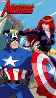 Cap and Widow Assemble