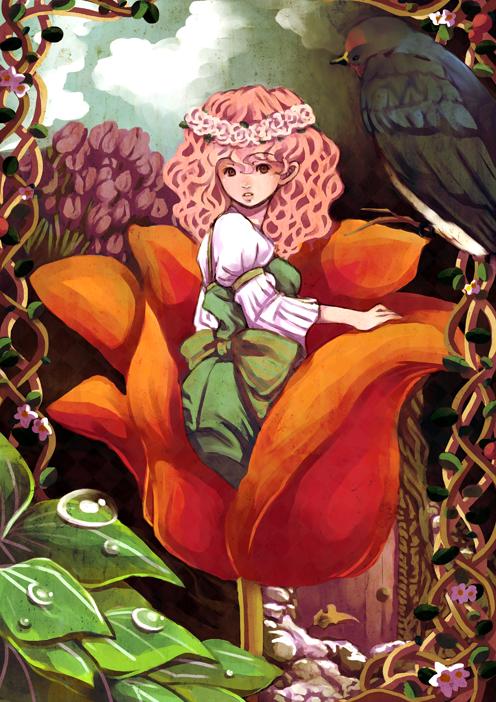 Thumbelina by arihato