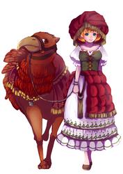 Original ethnic costume by arihato