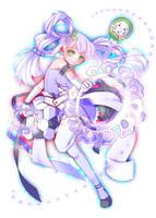 An original magical girl No.3 by arihato