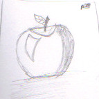 Apple Shaded by marssetta