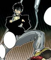 Manga Wolfwood by BattleAngelGally
