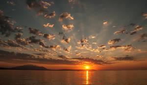 Mystical sunrise by PinkyTheGreat