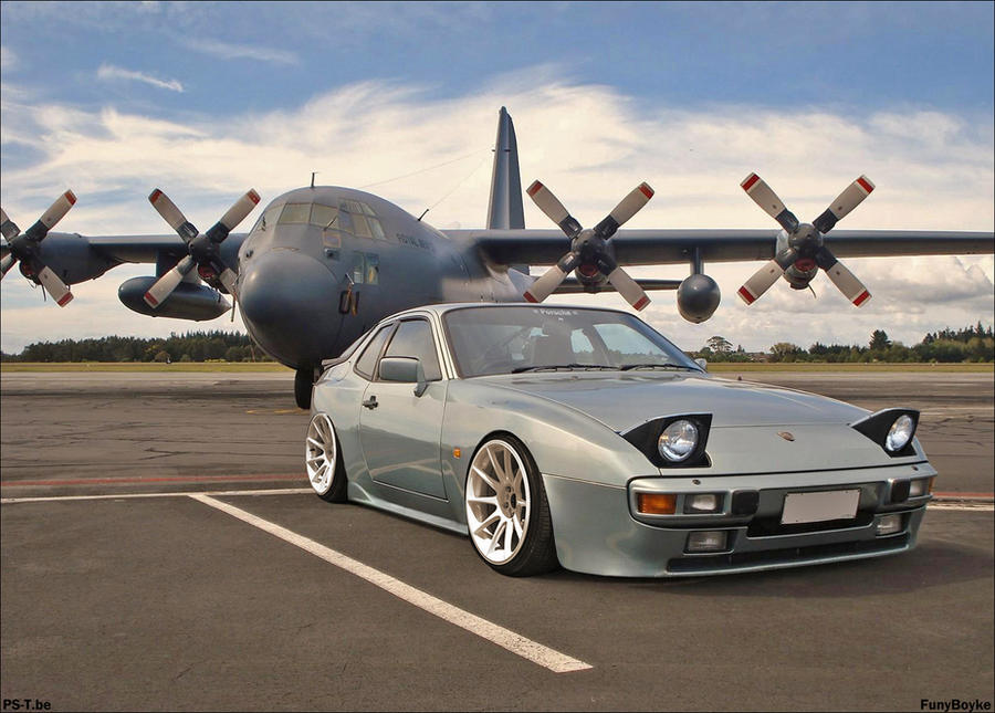 porsche 944 by funyboyke on deviantart