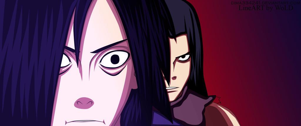 Manga 626 Madara Uchiha vs Senju Hashirama Color by ...