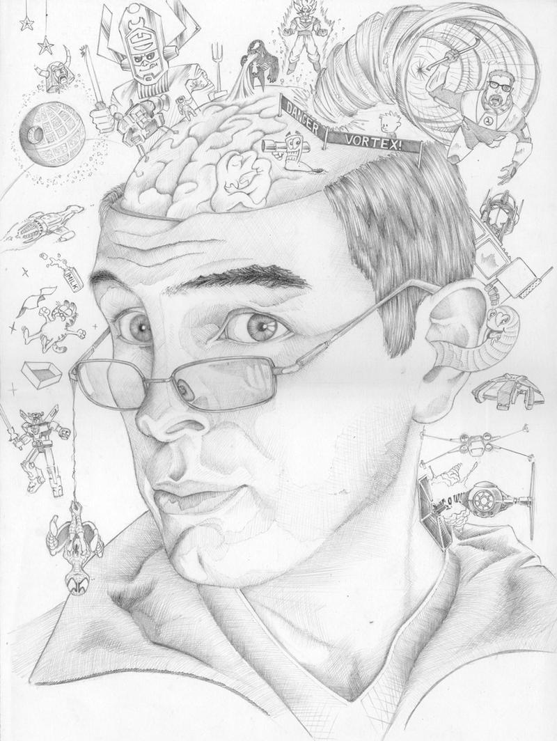 self portrait by RobertLaszloKiss