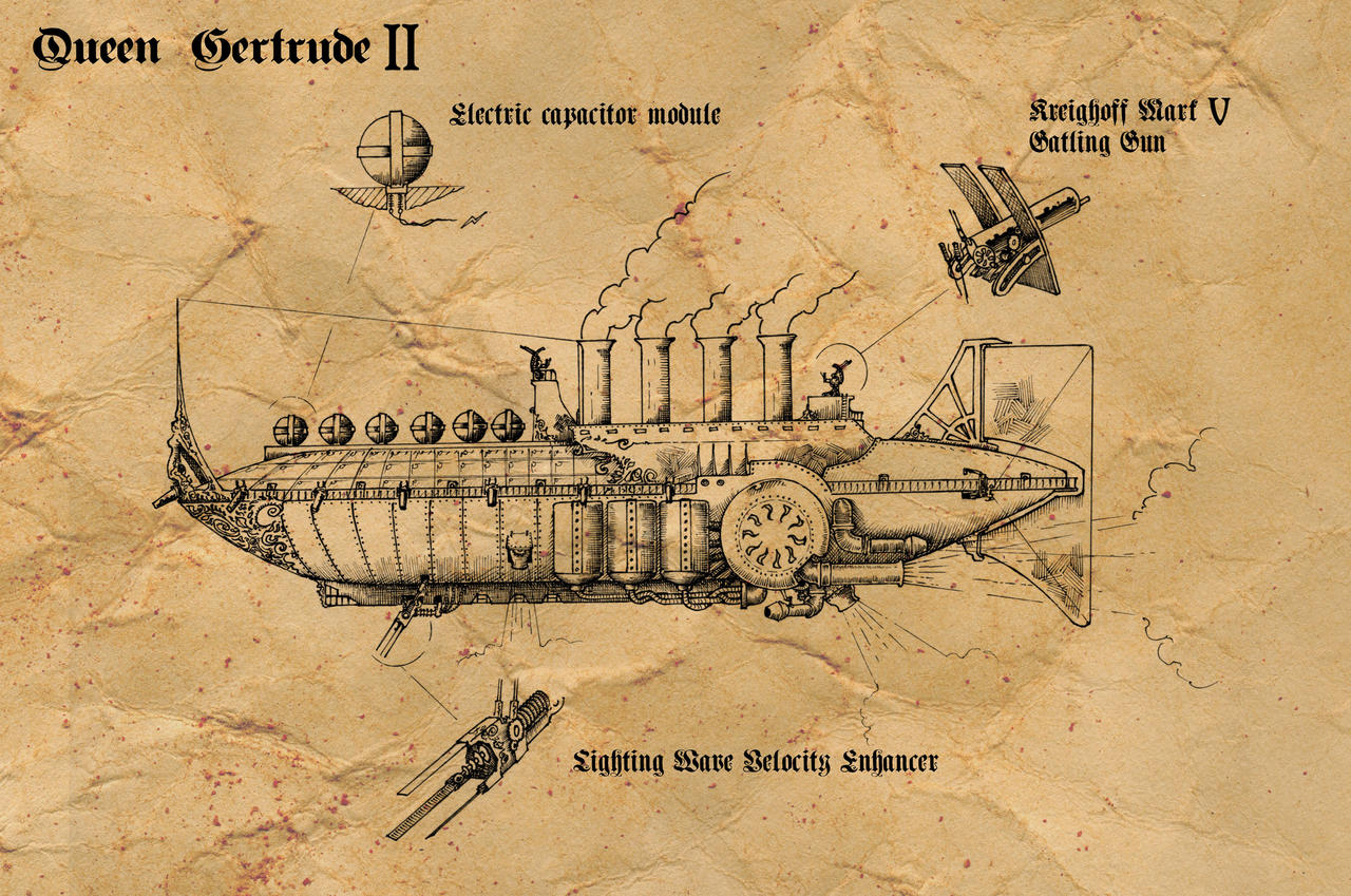 Queen Gertrude II by RobertLaszloKiss