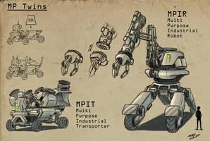 A robot a day 47 by RobertLaszloKiss