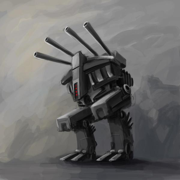 A robot a day 70 by RobertLaszloKiss