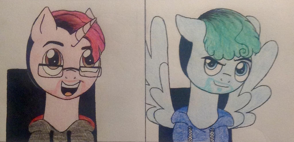 Markiplier and Jacksepticeye by zsocreed