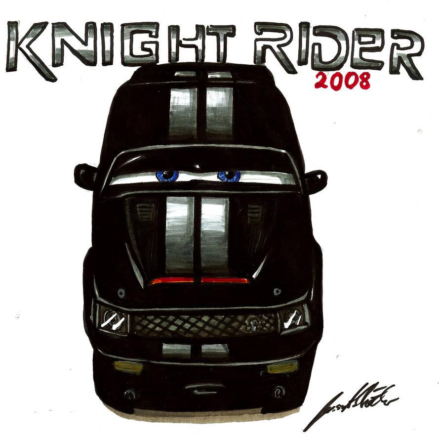 Knight Rider 2008 by Lowrider-Girl on DeviantArt