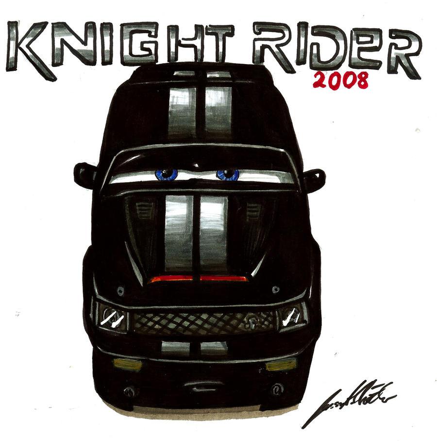 knight rider 2008 by lowrider girl on deviantart. Black Bedroom Furniture Sets. Home Design Ideas