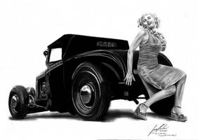 Hot Rod 'n' Pin Up by Lowrider-Girl